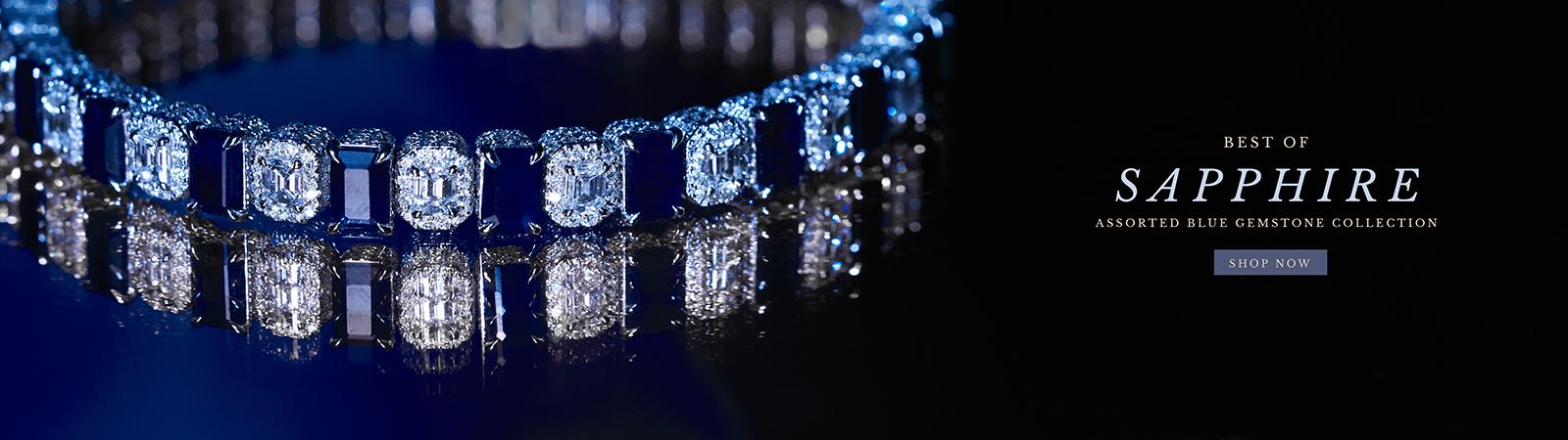Blue Sapphire Gemstone Jewelry