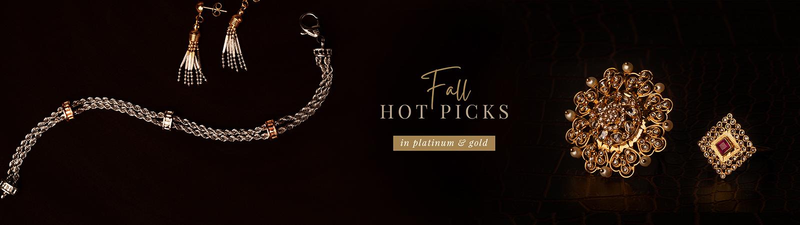 Fall Jewelry picks in 22k gold & diamonds 2021