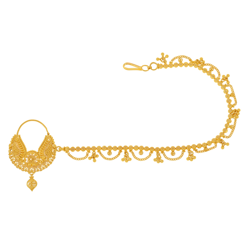 Mintra Hoop Nose Chain