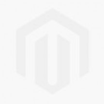 22K Gold Black Bead Hoop Earrings