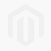 Hexa Beads Gold Hoops