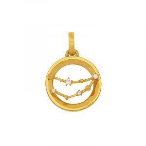 22k Gold Cz Constellation Gold Pendant
