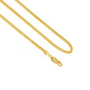 22k Gold Singapore Fox Gold Chain- 16