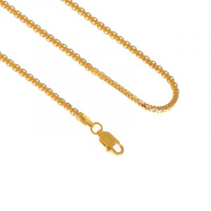 22k Gold RDM Cable Gold Chain - 14