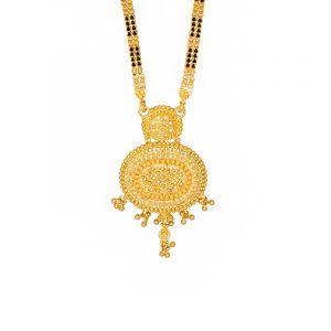 22k Gold Gold Dangles Mangalsutra