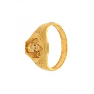 22k Gold Shri Sai Baba Ring