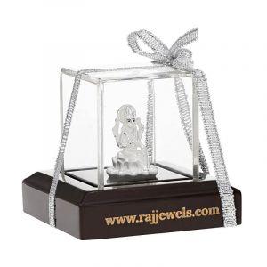 0.999 Silver Small Lakshmi Silver Murti