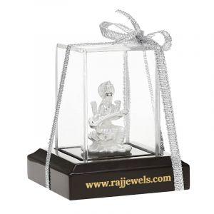 0.999 Silver Saraswati Silver Murti