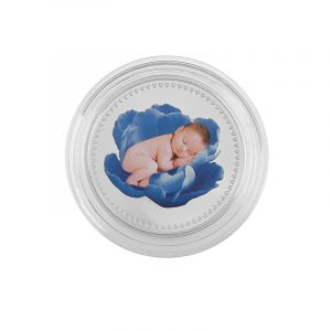 0.999 Silver Baby Boy Blessings Pamp Coin