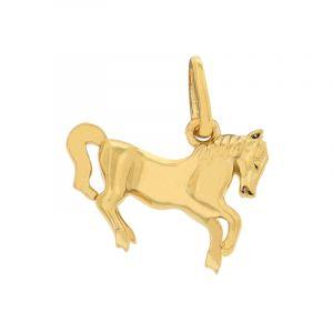 22k Gold Gold Horse Pendant
