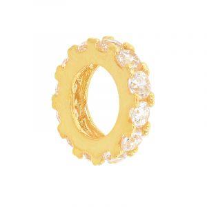Circle Cz Pendant