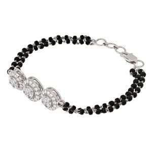 diamond mangalsutra bracelet - free shipping