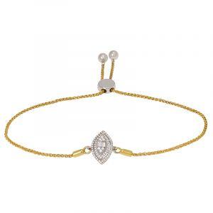 Diamond Eye Bolo Bracelet