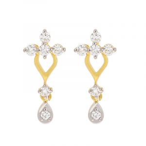 Dainty Drop Diamond Studs