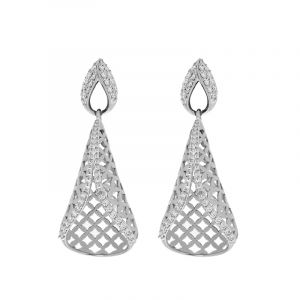 18k Diamond Iseah Diamond Drop Earrings