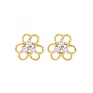 Blossom Diamonds Stud Earrings