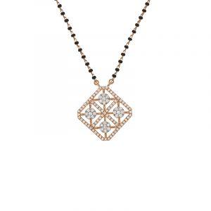18k Diamond Ferisa Diamond Mangalsutra