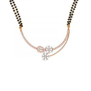 18k Diamond Esquire Diamond Mangalsutra