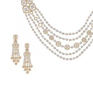 Balaze Diamond Designer Necklace