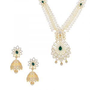 18k Diamond 2-in-1 Diamond Necklace Vaddanam