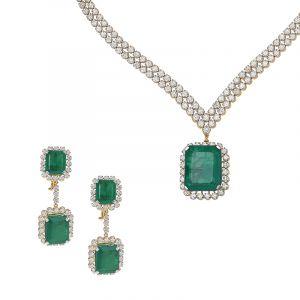 Grandiose Designer Diamond Necklace