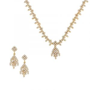 18k Diamond Amable Diamond Necklace