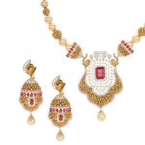 Agamya Designer Diamond Set