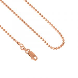 Diamond Cut Bead Chain - 16