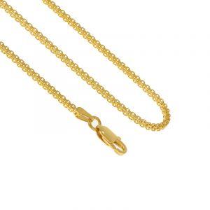 22k Gold Bismark Square Gold Chain- 18