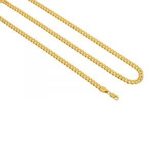 Cuban Link Gold Chain - 24