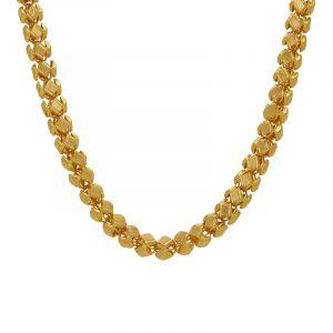 22k Gold Long Mesh Bead Chain