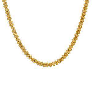 22k Gold Filigree Mesh Gold Chain
