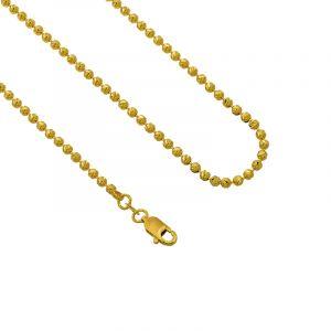 22k Gold Glitzy Balls Chain - 16