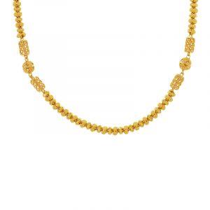 22k Gold Mesh Filigree Bead Chain