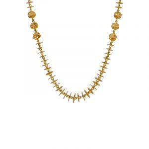 22k Gold Filigree Disc Ball Chain