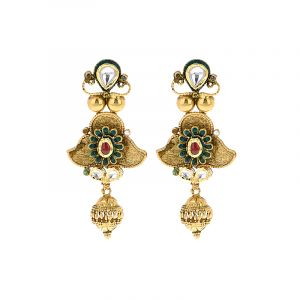 Anvi Antique Drop Earrings