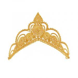 22k Gold Gold Filigree Mukut