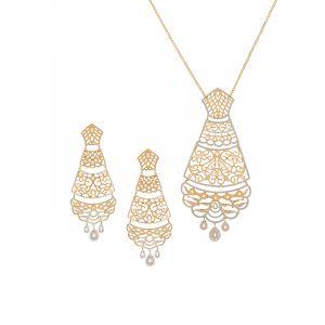 Grandeur Two-Tone Necklace