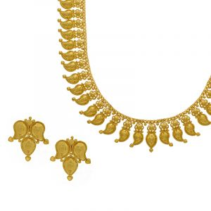 22k Gold 2-in-1 Long Mango Haram