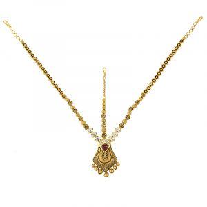 22k Gold Kalika Antique Matha Patti