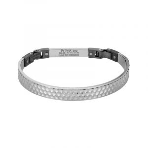 950 Platinum Carved Pattern Platinum Bangle