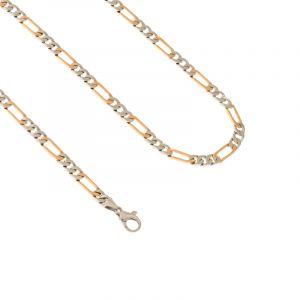 0.950/18k Platinum Platinum Figaro Chain - 20