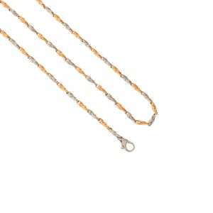 Twisted Links Platinum Chain - 20