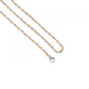 0.950/18k Platinum Flat Mariner Links Chain