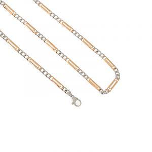 0.950/18k Platinum Figaro Platinum 18k Chain - 20