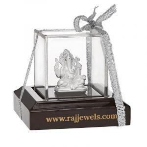 0.999 Silver Small Ganpati Silver Murti
