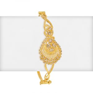 Ishiza Diamonds Bangle Bracelet