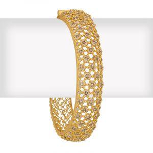 Uncut Diamonds Fancy Bangle