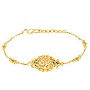 22k Diamond Akav Uncut Diamond Bracelet