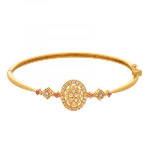 22k Diamond Bolivia Uncut Diamonds Bracelet